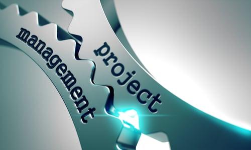 Project Management Concept on the Mechanism of Metal Cogwheels.-1